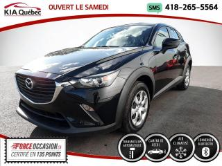 Used 2018 Mazda CX-3 GX* AUTOMATIQUE* CAMERA* BOUTON POUSSOIR for sale in Québec, QC