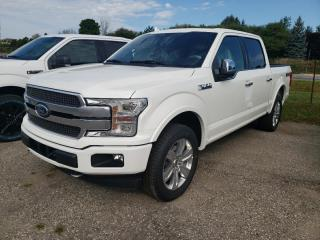 New 2020 Ford F-150 PLATINUM for sale in New Hamburg, ON