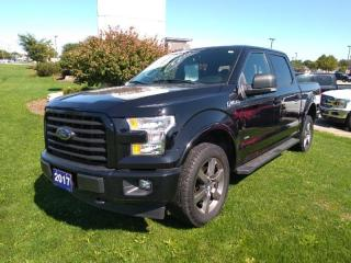 Used 2017 Ford F-150 4x4 - Supercrew XLT - 145 WB for sale in New Hamburg, ON