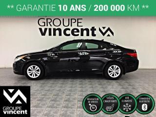 Used 2012 Hyundai Sonata GL ** GARANTIE 10 ANS ** Confortable et sécuritaire, cette Sonata vous conduira où vous le voudrez! for sale in Shawinigan, QC