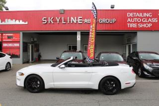 Used 2019 Ford Mustang ECOBOOST CONVERTIBLE for sale in Surrey, BC