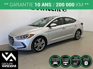 Used 2017 Hyundai Elantra GLS ** GARANTIE 10 ANS ** Fiable et économique! for sale in Shawinigan, QC