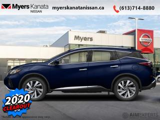 Used 2020 Nissan Murano Platinum  - 20 Inch Wheels for sale in Kanata, ON