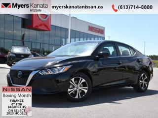 New 2020 Nissan Sentra SV CVT  - Heated Seats -  Android Auto - $160 B/W for sale in Kanata, ON