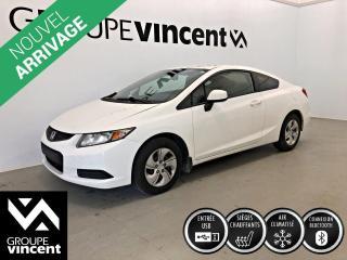 Used 2013 Honda Civic LX CLIMATISEUR ** GARANTIE 10 ANS ** Économique et fiable! for sale in Shawinigan, QC