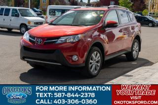 Used 2013 Toyota RAV4 Limited LIMITED/ROOF/LEATHER/AWD for sale in Okotoks, AB
