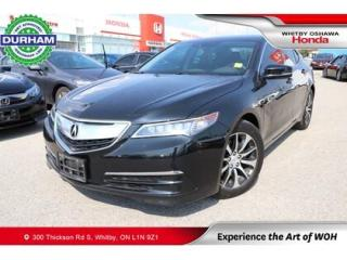 Used 2017 Acura TLX w/Technology Package for sale in Whitby, ON