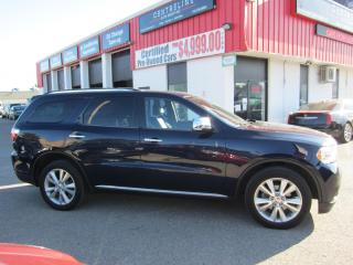 Used 2012 Dodge Durango Crew Plus 14,995+HST+LIC FEE / CERTIFIED / 3 ROWS OF SEATING for sale in North York, ON