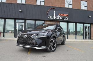 Used 2016 Lexus NX 200t F-SPORT/NAVI/RED LEATHER/CLEAN CAR for sale in Concord, ON