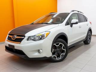 Used 2014 Subaru XV Crosstrek LIMITED AWD TOIT OUVRANT NAV SIÈGES CHAUFF *CUIR* for sale in Mirabel, QC