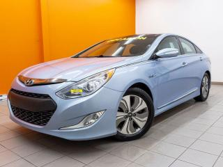 Used 2013 Hyundai Sonata Hybrid LIMITED TOIT PANO SIÈGES CHAUFFANTS *HYBRIDE* for sale in Mirabel, QC