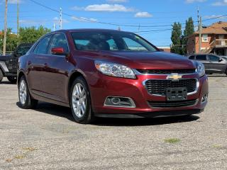 Used 2015 Chevrolet Malibu 1LT SUNROOF, REVERSE CAMERA, TOUCHSCREEN, FACTORY REMOTE STARTER for sale in Ottawa, ON