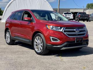Used 2018 Ford Edge Titanium DUAL PANE SUNROOF, NAVIGATION, TRAILER TOW GRP, FACTORY REMOTE STARTER for sale in Ottawa, ON