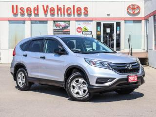 Used 2016 Honda CR-V LX AWD | HEATED SEATS | BACK-UP CAMERA for sale in North York, ON