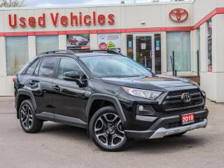 Used 2019 Toyota RAV4 TRAIL EDITION ALLOYS SUNROOF LEATHER BLIND-SPOT for sale in North York, ON