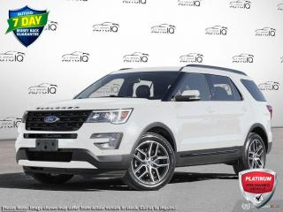 Used 2017 Ford Explorer Sport SPORT   AWD   3.5L V6 ECOBOOST   TWIN PANEL MOONROOF for sale in Kitchener, ON