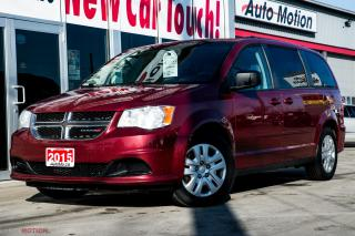 Used 2015 Dodge Grand Caravan SE/SXT STOW & GO NEW BRAKES REMOTE START for sale in Chatham, ON