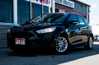Used 2015 Ford Focus REMOTE START - HEATED WHEEL/SEATS - BACK UP CAM for sale in Chatham, ON