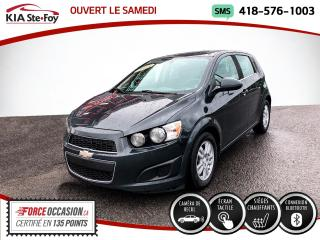 Used 2015 Chevrolet Sonic * LT* SIEGES CHAUFFANTS* CAMERA* BLUETOO for sale in Québec, QC