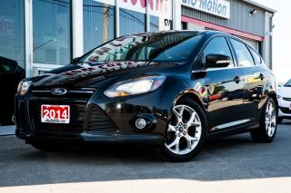 Used 2014 Ford Focus Titanium LEATHER - SUNROOF - HEATED/PWR SEATS - BACKUP CAM for sale in Chatham, ON