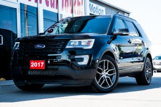 Used 2017 Ford Explorer Sport POWER/HEATED/AC SEATS - DUAL SUNROOF - 4X4 SELECT for sale in Chatham, ON