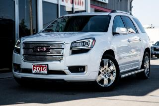 Used 2016 GMC Acadia Denali LOADED!! 3RD ROW SEATS - PRICED TO SELL! for sale in Chatham, ON
