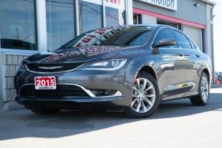 Used 2015 Chrysler 200 REMOTE START - POWER / HEATED SEAT - BACKUP CAM for sale in Chatham, ON