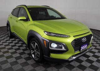 Used 2020 Hyundai KONA 1.6T Ultimate 1.6L Turbocharged, Ultimate, Leather, navigation, Heads-up Display for sale in Huntsville, ON