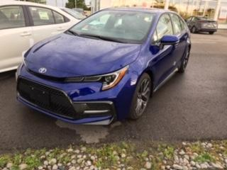 New 2020 Toyota Corolla SE UPGRADE PACKAGE+LEATHER HEATED STEERING WHEEL+18 INCH ALLOYS! for sale in Cobourg, ON