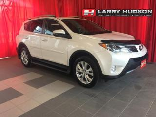 Used 2014 Toyota RAV4 Limited AWD   Navigation   Sunroof   + Snow Tires/Wheels for sale in Listowel, ON