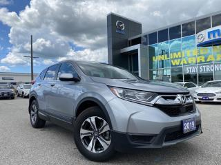 Used 2019 Honda CR-V LX AWD with under 9,000km! for sale in Chatham, ON