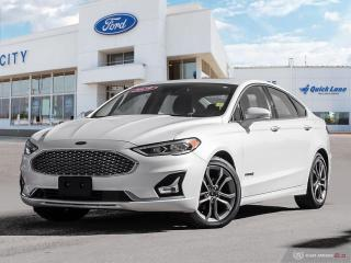 Used 2019 Ford Fusion Hybrid Titanium for sale in Winnipeg, MB