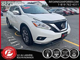 Used 2017 Nissan Murano SL for sale in Rouyn-Noranda, QC