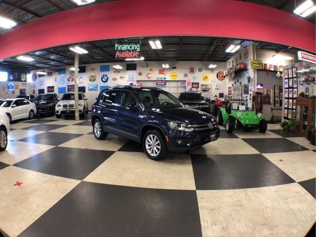 2017 Volkswagen Tiguan 2.0 TSI WOLFSBURG EDITION  AUT0 AWD LEATHER PANO/ROOF CAMERA PUSH START 73K