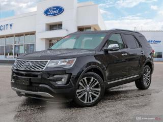 Used 2016 Ford Explorer Platinum for sale in Winnipeg, MB