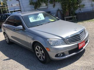 Used 2011 Mercedes-Benz C-Class C 250 for sale in Hamilton, ON