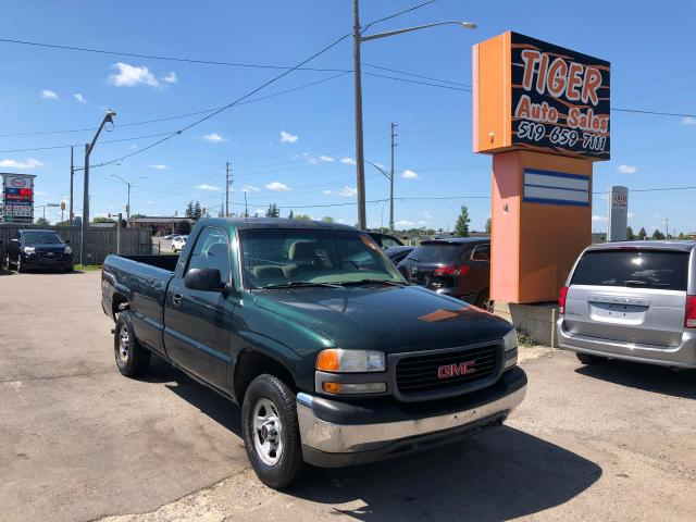 2002 GMC Sierra 1500 4X4**LONG BOX**SINGLE CAB**ONLY 177KMS**AS IS