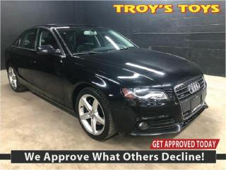 Used 2012 Audi A4 2.0T PREMIUM for sale in Guelph, ON