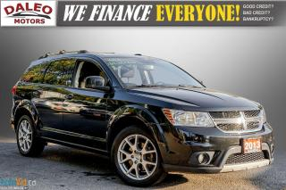 Used 2013 Dodge Journey CREW / 7 PASS / DVD / BACK UP CAM / HEATED SEATS / for sale in Hamilton, ON