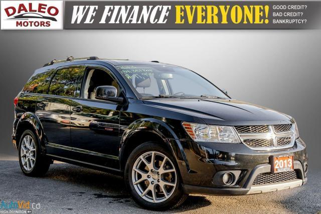 2013 Dodge Journey CREW / 7 PASS / DVD / BACK UP CAM / HEATED SEATS /