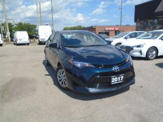 Used 2017 Toyota Corolla 4dr AUTO LE NO ACCIDENT B-TOOTH B-CAMERA LINE K for sale in Oakville, ON