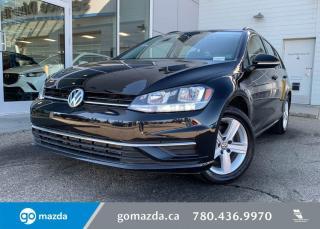 Used 2019 Volkswagen Golf Sportwagen COMFORTLINE- SPORTWAGON, AWD, HEATED SEATS, BACK UP, GREAT VALUE! for sale in Edmonton, AB