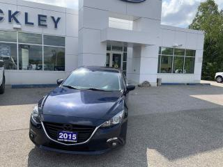 Used 2015 Mazda MAZDA3 GS w/HEATED SEATS AND MOONROOF for sale in Huntsville, ON