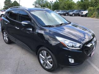 Used 2015 Hyundai Tucson Limited ** AWD, NAV, BACK CAM, HTD LEATH ** for sale in St Catharines, ON