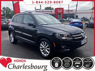 Used 2017 Volkswagen Tiguan **Wolfsburg**4MOTION**PANORAMIQUE+CUIR** for sale in Charlesbourg, QC
