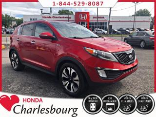 Used 2012 Kia Sportage SX AWD 2.0T**TOIT PANORAMIQUE**CUIR** for sale in Charlesbourg, QC