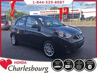 Used 2015 Nissan Micra SV **AUTOMATIQUE**AUCUN ACCIDENT** for sale in Charlesbourg, QC