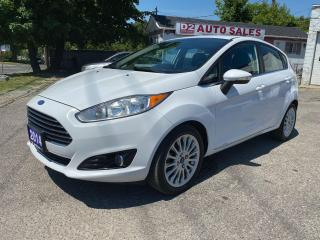 Used 2014 Ford Fiesta Titanium/Accident Free/Automatic/Leather/Roof/Navi for sale in Scarborough, ON