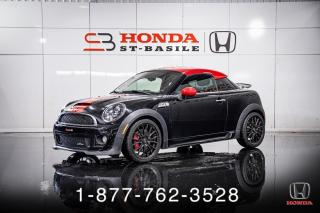 Used 2012 MINI Cooper Coupe JOHN COOPER WORKS + COUPE + WOW! for sale in St-Basile-le-Grand, QC