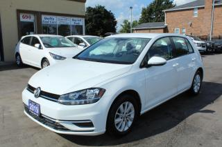 Used 2019 Volkswagen Golf COMFORTLINE for sale in Brampton, ON